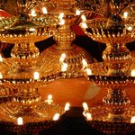Thiruparamkundram - lumini votivi