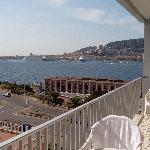 Vue de la terrasse - de jour