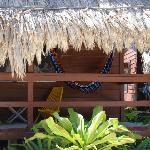 Front porch of Cabana