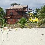Colibri House - Side view from the Beach