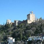 vistas de la alhambra desde apartamentos muralla zirí