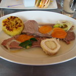 Boiled beef traditional Austrian style