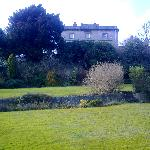 The house from the garden