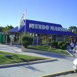 Mundo Marino: Entrada al parque