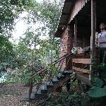 Our Cabin, Caracol, overlooking the river