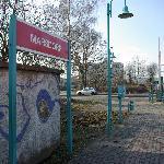 station de tramway à proximité
