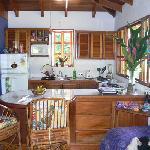 Inside beautiful Monkey House Villa
