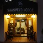 Saasveld Lodge Entrance at Night