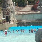 wave pool at siam park
