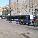 A1 Aerobus at Placa de Catalunya