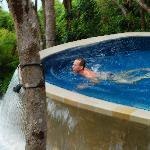 Pool at villa 206