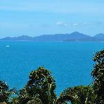 View towards Koh Phangan