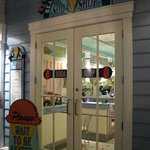 The entrance to Beaches & Cream