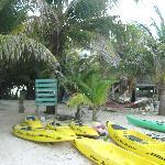 Kayaks and Main House