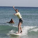 Surfing Lesson, Greenmount Beach Coolangatta - Walkin On Water Surf School