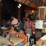 Tiruchirappalli - Shree Krishnas Garden Restaurant, il salad bar