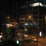 View from 4th floor at night-Hotel Roosevelt