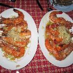 Perfect shrimp dinner