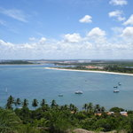 Mirador do Paraíso (atrás, el puerto de Suape)