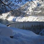 View of the Tignes Dam