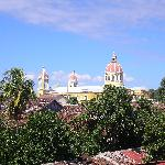 View of Cathedral from rooftop terrace
