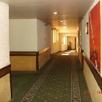 pasillo de las habitaciones