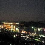 千光寺山荘から望む尾道水道の夜景
