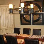 Dining room of a 4th floor condo
