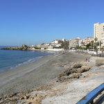 Playa Torrecilla, Nerja