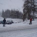 Bus stop to Obergurgl centre