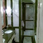 Bathroom of room 402