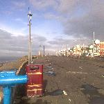 The view along the Prom, 30 seconds' walk from Coast