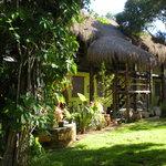 le jardin trés calme