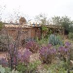 Garden and main entrance to Casa Tierra