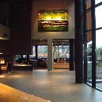 West coast modern lobby