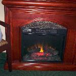 In room fireplace