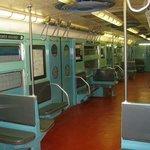 Interior of 50's Vintage Car