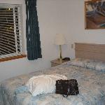 Bedroom (with my purse!)