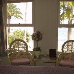 Ocean Front Room - looking toward the windows