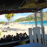 Lion's Beach Bar on Cockelshell Beach in St Kitts