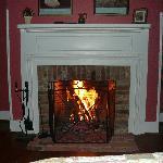 Romantic fire!