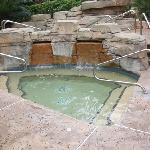 The hot tubs