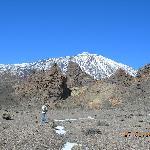 dans le parc du Teide