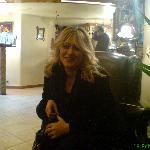 in der Lobby am Valentinstag