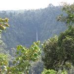 View of Waterfall Near Farm