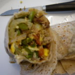 Inside the Machaca Burrito