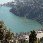 Nainital lake from above