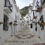 Mijas village street