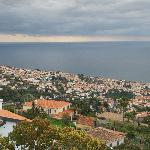 La vue sur Funchal