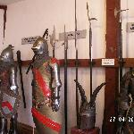 Part of the armour collection